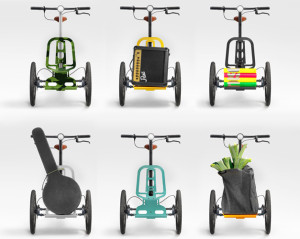 Kiffy, le mini tricycle cargo, associe liberté et pratique !