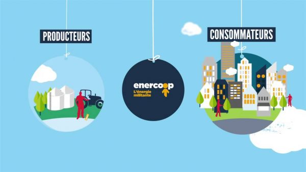 Enercoop a été reconnue par 60 millions de consommateurs comme « l'offre écologique la plus attrayante ».
