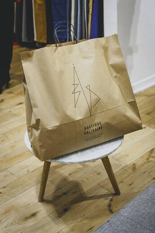 La Bis Boutique une boutique prônant l'économie sociale et solidaire.