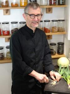 Pascal Roy, chef de Totum, cantine bio, vegan et sans-gluten à Nantes