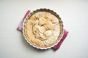 Tarte aux pommes vegan - recette vegan facile